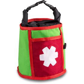 Ocun Boulder Bag Borse portamagnesite verde/rosso